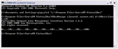 Proses cloning hardisk virtual